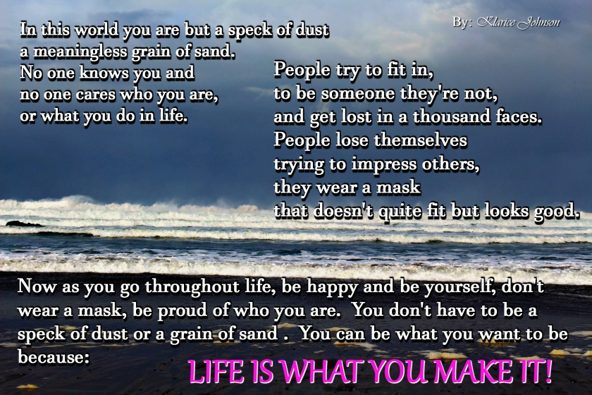 life-is-what-you-make-it