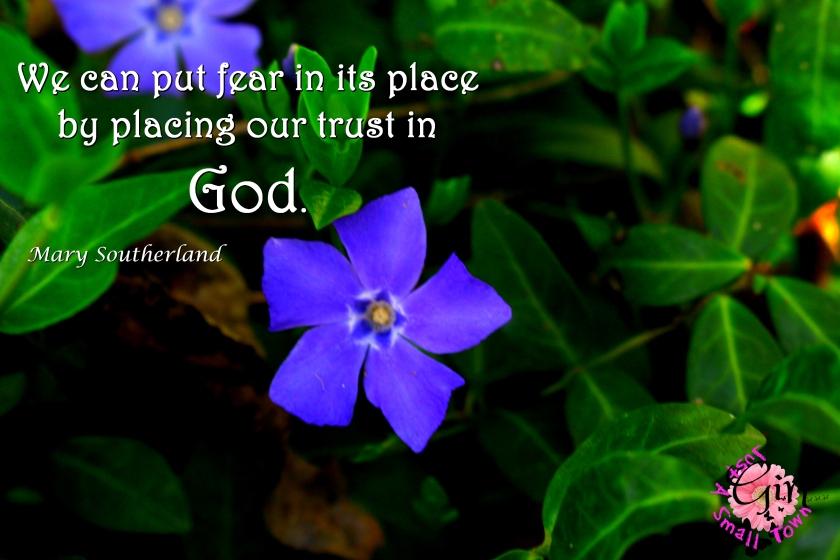 trust in god stg