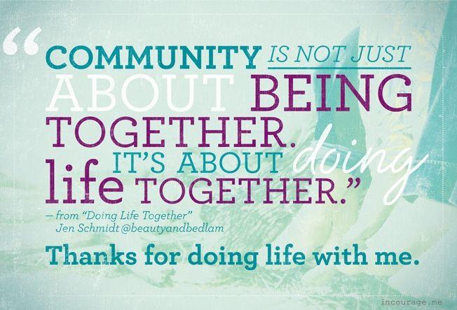 communitiy