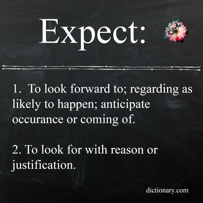 expext define
