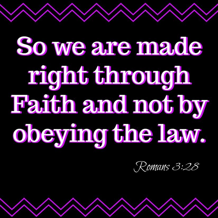 Romans 3 28