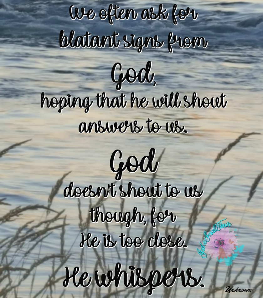 god whispers